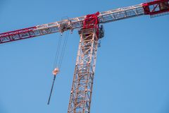 Crane ready for construction work Royalty Free Stock Photography
