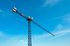 crane red tower Royaltyfri Foto