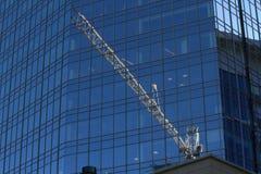 Crane Rigging Royaltyfri Bild