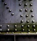 Crane rivets Stock Photography