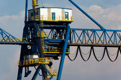 Crane in Sestao Stock Images