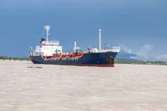Crane Ship Stock Foto's