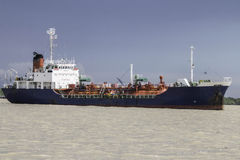 Crane Ship Imagenes de archivo