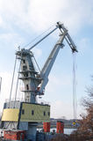 The Crane at shipping port Royalty Free Stock Photo