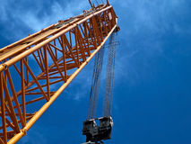 Crane in shipyard Royalty Free Stock Photos