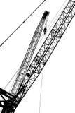 Crane silhouette Royalty Free Stock Photo