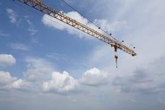 Crane & sky Royalty Free Stock Image