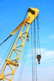 Crane and sky Royalty Free Stock Image
