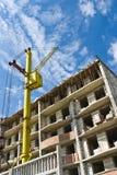 Crane on sky Royalty Free Stock Photography