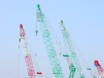 Crane and sky Stock Image