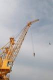 Crane and Sky Royalty Free Stock Photo