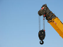 Crane on sky Stock Photography