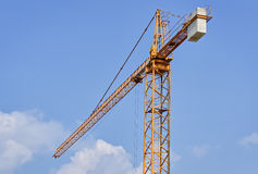 Crane and the sky Royalty Free Stock Photos