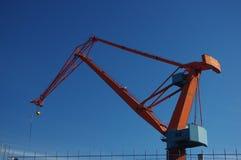 Crane in the sky Stock Photos