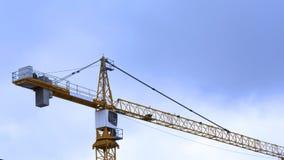 Crane sky p11 Stock Image