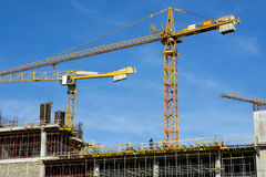 Crane sky p8 Stock Photography