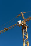 Crane in sky Stock Photo