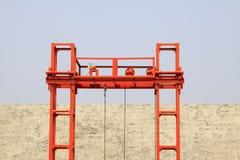 Crane steel bracket Royalty Free Stock Images
