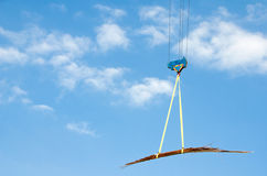 Crane steel hook lifting metal Stock Images