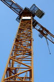 Crane. Steel structure of a construction crane Royalty Free Stock Image