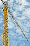 Crane structure Stock Photo