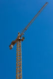 Crane on a sunny day Royalty Free Stock Photography