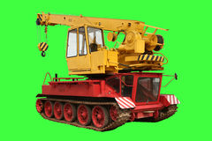Crane tank. Crane, hook with telescope mast, on Russian tank, Germany stock photography