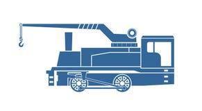 Crane tank. Steam locomotive Stock Photos