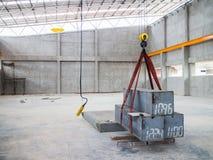 Crane Test aéreo Imagens de Stock
