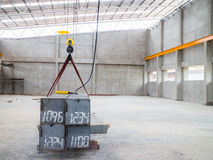 Crane Test aéreo Imagens de Stock Royalty Free
