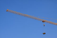 Crane tower construction equipment Stock Images