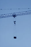 Crane tower construction equipment Royalty Free Stock Photo