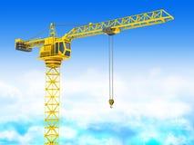 Crane tower Stock Image