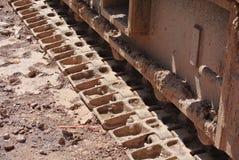 Crane tracks Stock Photo