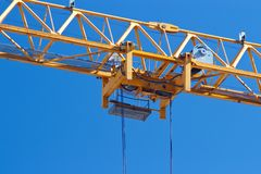 Crane trolley Royalty Free Stock Images