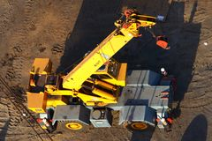 Crane truck Royalty Free Stock Image