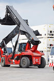 Crane truck Stock Photos
