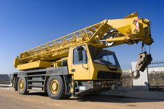 Crane Truck Royalty Free Stock Photography