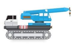 Crane_truck ilustracji