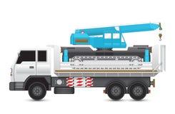 Crane_truck royalty ilustracja