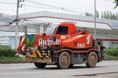 Crane Truck de Nim ve a Seng Transport Foto de archivo