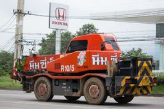 Crane Truck de Nim ve a Seng Transport Fotos de archivo libres de regalías