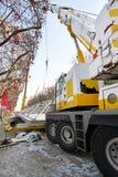 Crane Truck Lift fotografia stock