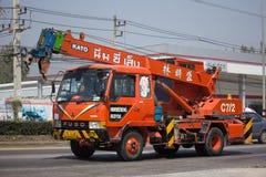 Crane Truck of Nim See Seng Company Stock Photos