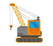 Crane truck vector illustration Stock Images