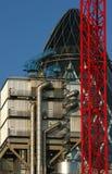 Crane & Tubes Stock Image