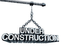 Crane Under Construction Royalty Free Stock Image