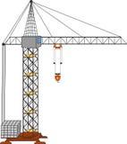 Crane vector Royalty Free Stock Photo