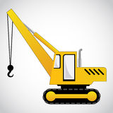 Crane vector Royalty Free Stock Images