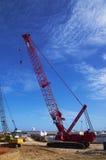 Crane vehicle Stock Photo